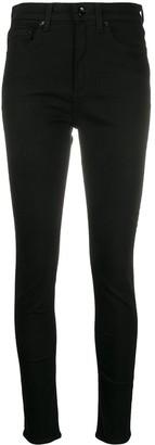Rag & Bone/JEAN High-Rise Skinny-Fit Jeans