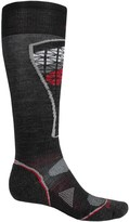 Smartwool PhD Pattern Ski Socks - Merino Wool, Over the Calf (For Men and Women)