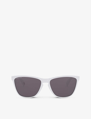Oakley OO9444-57 Frogskins 35th-anniversary O Matter and Prizm square-frame sunglasses