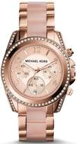 Michael Kors MK5943 Blair Rose Gold Tone Chronograph Ladies Watch