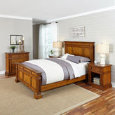 Asstd National Brand Lexington Bed, 2 Nightstands and Chest