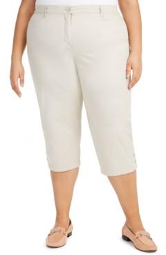 Karen Scott Plus Size Capri Pants, Created for Macy's