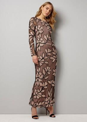 Phase Eight Angela Tapework Maxi Dress