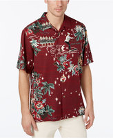 Tommy Bahama Men's Big & Tall Merry Kitschmas Silk Shirt