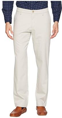 Dockers Athletic Fit Signature Khaki Lux Cotton Stretch Pants - Creaseless (Charcoal Heather) Men's Casual Pants