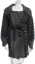 Missoni Patterned Belted Sweater