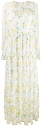 Philosophy di Lorenzo Serafini Floral Tiered Maxi Dress
