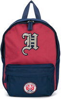 Hackett Kids backpack with patch appliqué