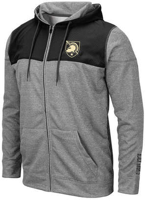 Colosseum Men Army Black Knights Nelson Full-Zip Hooded Sweatshirt