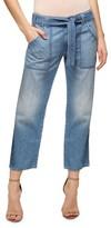Sanctuary Women's Karate Belted Crop Jeans