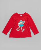 Flap Happy Red Twinkle Fairy Tee - Infant, Toddler & Girls