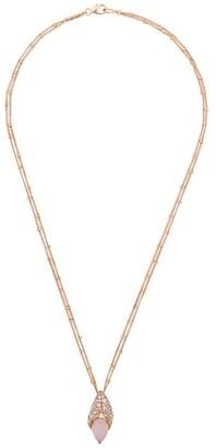 Stephen Webster 18kt gold crab pincer necklace
