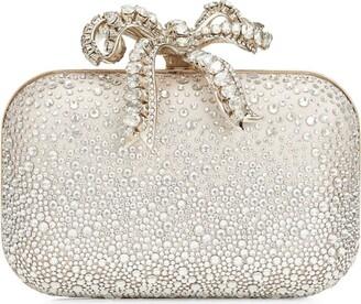 Jimmy Choo Swarovski-Embellished Cloud Clutch Bag