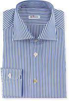 Kiton Men's Bengal-Stripe Dress Shirt