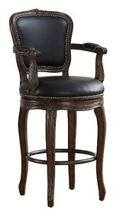 "American Heritage 26"" Swivel Bar Stool"
