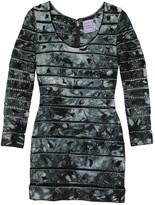 Herve Leger Grey Dress for Women