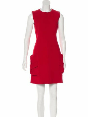 Victoria Beckham Pocketed Structured Dress