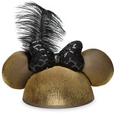 Disney Minnie Mouse Golden Ear Hat with Sequined Bow for Adults