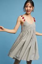 Anthropologie Tasseled Cami Dress