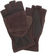 Isotoner Women's Fleece Stretch Convertible Gloves with Thumb Hole