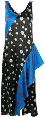 Kenzo Roses ruffled dress