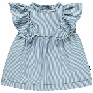 Noppies Baby Girls' G Dress Ss Carson City Y/d Str