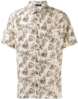 Lanvin printed shirt - men - Silk - 40