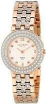 """Akribos XXIV Women's AK598RG """"Impeccable"""" Diamond Bracelet Watch"""