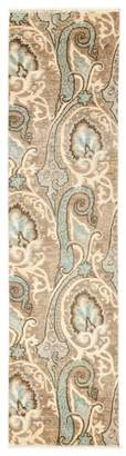 """Bloomingdale's Suzani Collection Oriental Rug, 2'7"""" x 10'6"""""""