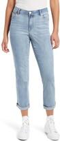 1822 DENIM High Waist Ankle Boyfriend Jeans