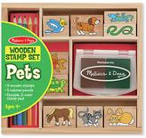 Melissa & Doug Pets Stamp Set