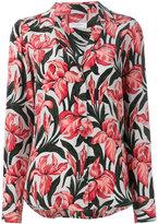 Equipment flower print shirt - women - Silk - S