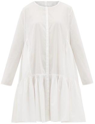 Merlette New York Martel Tiered Cotton-lawn Dress - Womens - White