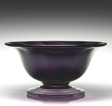 William Yeoward Country Spiral Amethyst Bowl - 30cm