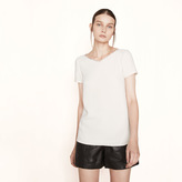 Maje T-shirt with sequinned trim