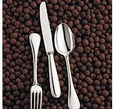 Christofle Perles Silverplate Serving Fork
