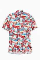 Barney Cools Aloha Rayon Short Sleeve Button-Down Shirt
