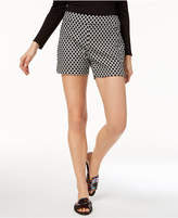 INC International Concepts I.n.c. Curvy Printed Jacquard Shorts, Created for Macy's