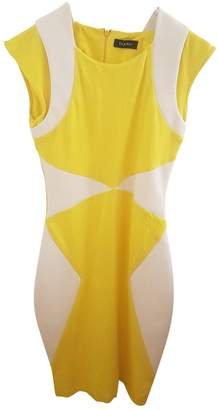 Byblos Yellow Cotton Dress for Women