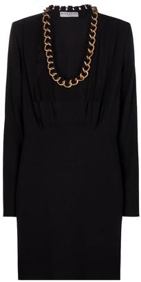 Givenchy Embellished crepe minidress