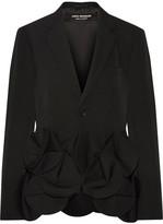 Junya Watanabe Appliquéd Wool-twill Blazer - Black