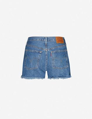 Levi's 501 Original high-rise denim shorts