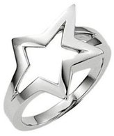 Thierry Mugler Stainless Steel Ring - 6