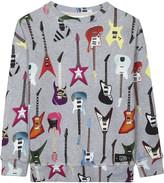 Molo Milton guitar printed sweatshirt 4-14 years