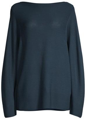 Lafayette 148 New York Ottoman-Stitch Sweater