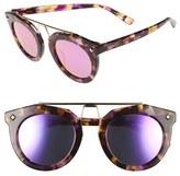 MCM Women's 49Mm Round Sunglasses - Black