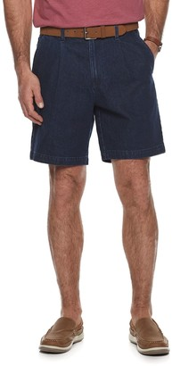 Croft & Barrow Men's Comfort Waist Pleated Flat Front Shorts