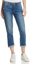 Paige Annabelle Slim Boyfriend Jeans in Collin
