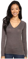 Smartwool Granite Falls V-Neck Top