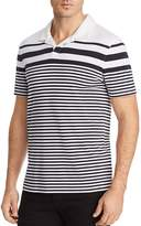 Michael Kors Johnny Stripe Short Sleeve Polo Shirt